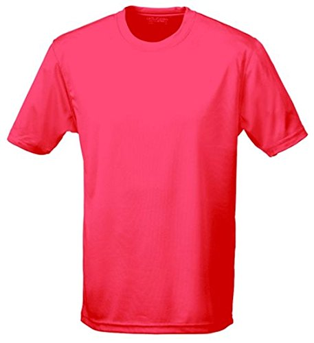 NEON Laufshirt - floureszierend - Neongelb, Neongrün, Neonpink, Neonorange XS, S, M,L, XL, XXL, Rosa, XL