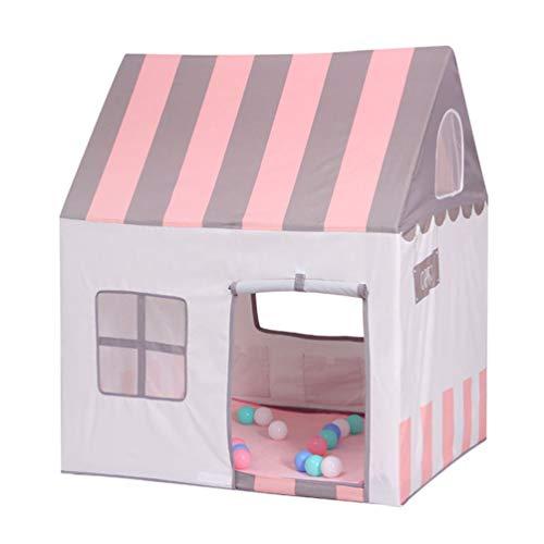 Floving Zelt für Kinder, Zelt für Baby, Kinderschloss, Blau, Rosa, Geburtstagsgeschenk, Indoor / Outdoor, Spielzeugraum, Sicherheit und ungiftig. (Pink)