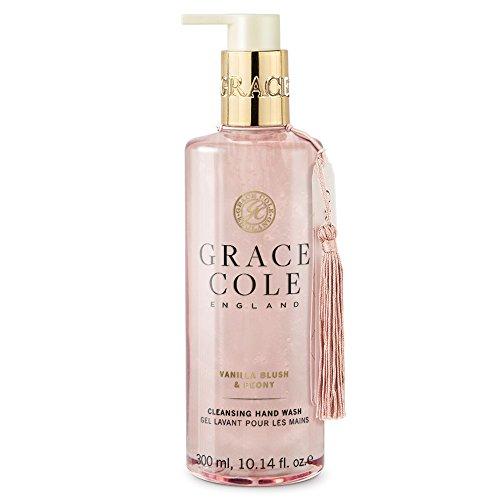 Savon liquide de 300 ml par Grace Cole - Blush à la vanille et pivoine