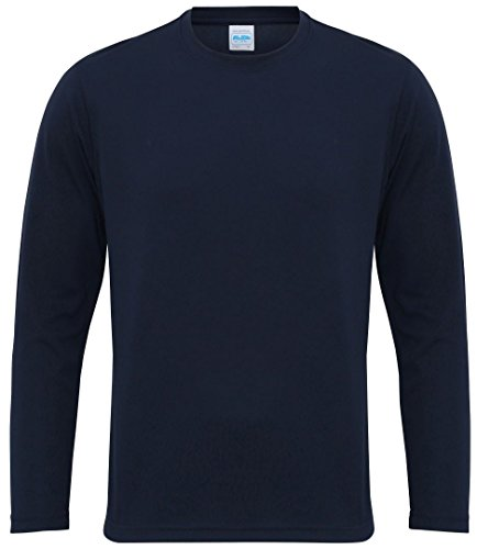 Awdis Cool a maniche lunghe Cool T French Navy