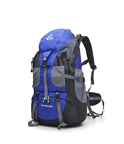 Reiserucksack Schulter Draußen Bergtourismus,Black Blue