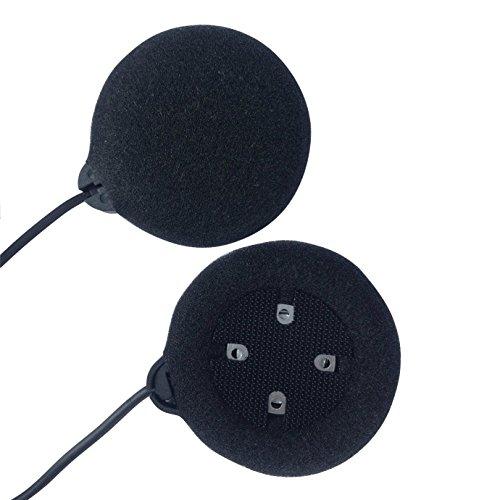Micrófono Altavoz duro cable de los auriculares para el casco de FreedConn T-MAX, FDCVB, de T-COM, de COLO la motocicleta de Bluetooth Interphone del intercomunicador