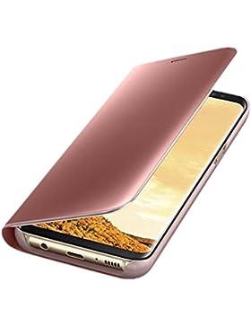 Funda Samsung Galaxy S7 Edge Espejo PC Flip 360° Protectora Ultra Delgado Choque Absorción Anti-Arañazos Case...