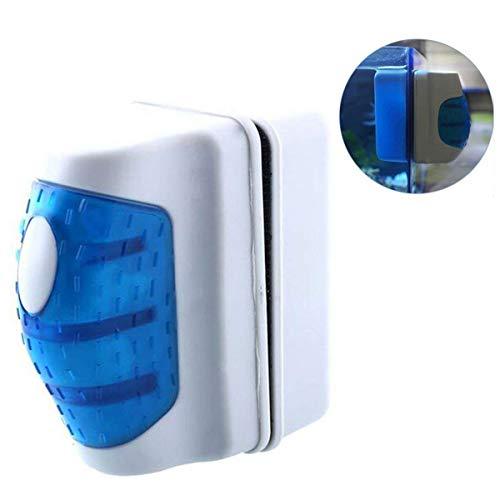 Schwimmende magnetische Reinigungsbürste Aquarium Glas Algen Schaber Reiniger Wischbürste (Size : L)