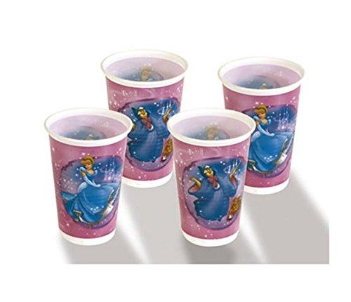 Party-Becher 550461 Cinderella 8 Stk.