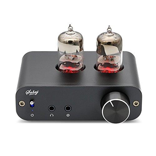 Sabaj PHA3 Vakuumröhre Tube Kopfhörerverstärker 2X6J9 Low Ground Noise Integrierte Stereo Amp Audio HiFi Ausgang Schutz für Kopfhörer