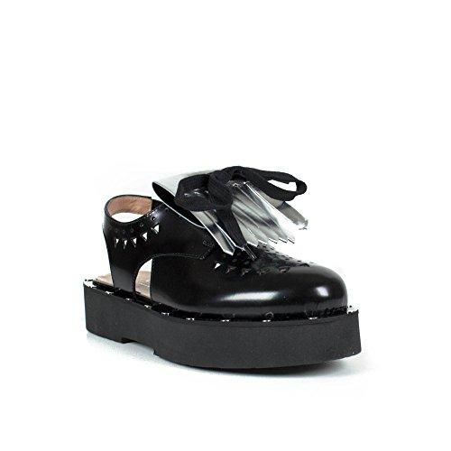 TWIN-SET Sandales Femme CS7PFC -T00006 Noir EG185CS7PFC-T00006_39