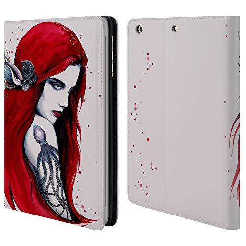 Head Case Designs Offizielle Pixie Cold Stadt Ariel Göttin Brieftasche Handyhülle aus Leder für iPad Mini 1 / Mini 2 / Mini 3 - Ariel Leder
