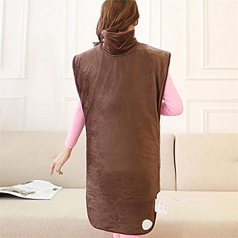 G&M L'originale Bean Bag plug-in elettrico riscaldamento elettrico riscaldamento elettrico riscaldamento abbastanza caldo abbigliamento borse cintura , long brown 220v
