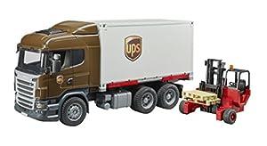 Bruder 03581-Camión de Transporte Scania R-Serie UPS con Mueble élevateur