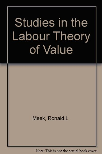 Studies in the Labour Theory of Value