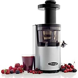 Omega Vertical Juicing System Silver VSJ843RS by Omega