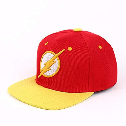 YanLong Animation Caps Flash Snapback Caps Baseballmütze für Erwachsene Cool Boy Hip-Hop-Hüte für Männer Frauen Gelb (Kid Cool Kostüme)