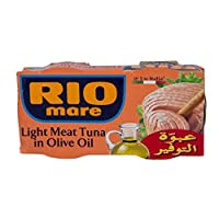 ‏‪Rio Light Meat Tuna In Olive Oil - 160 Gm 2 Pieces‬‏