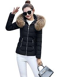 WanYang Giacca Corta Con Cappuccio Donna Trend Di Moda Autunno E Inverno  Caldo Giubbotto Grande Giù a04d0744d1f