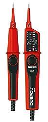 Benning 050261 Duspol analog Spannungsprüfer mit Tauchspul-Pegelanzeige