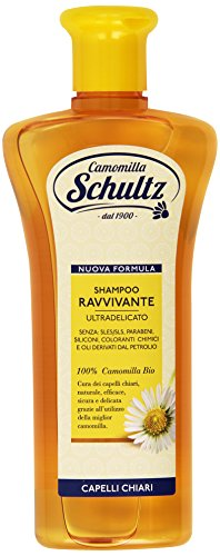 Scheda dettagliata Schultz - Shampoo Ravvivante, Ultra delicato, 100% Camomilla Bio - 250 ml