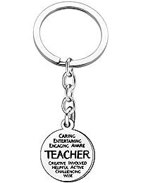 Llavero para profesor, para el día del profesor, cumpleaños, graduación, regalos,