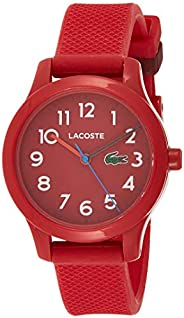 Lacoste Unisex-Child Quartz Watch, Analog Display and Rubber Strap 2030004