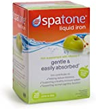 Spatone Apple Liquid Iron Supplement with added Vitamin C - Pack of 28 Sachets