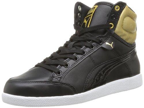 Puma Ikaz Hi Satin Wns Damen Sneaker Schwarz - Noir (01)
