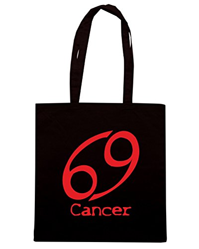T-Shirtshock - Borsa Shopping T0211 CANCER CANCRO religioni celtic Nero