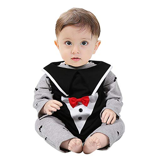 Cuteelf Kinder Jacke Halloween Performance Kostüm Baby Vampire One Piece Hut Gentleman 3 Stück Set Neugeborenen Cartoon Overall Weste Halloween Kostüm
