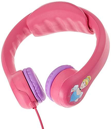 Lexibook - HP018DP - Casque Flexible pour Enfants Disney Princess