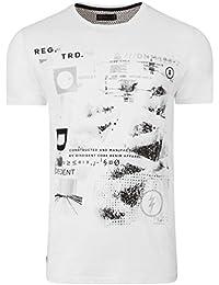 Dissident Mens T-Shirt Cotton Mix Designer Tee Top Summer Convex