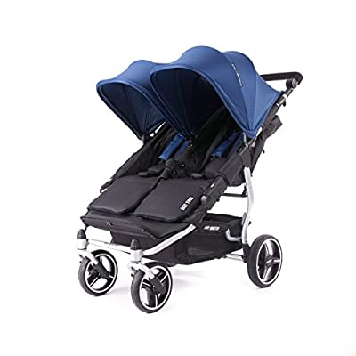 Baby Monsters- Silla Gemelar Easy Twin 3.0.S ( Silver ) - Color Midnight + REGALO de un bolso de polipiel (capota normal) Danielstore