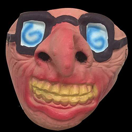 JIE Maskerade Halloween Bar Party Supplies Show Maske Booger Halbe Gesichtsmaske Lustige Vampir ()