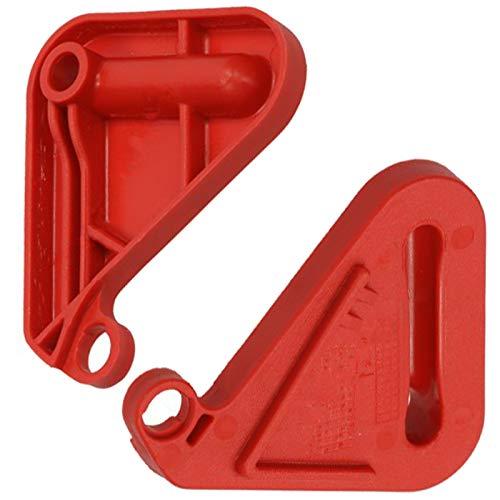 Spares2go - Palanca de Repuesto para cortacésped Bosch Rotak 34 37 40 43 (2 Unidades)