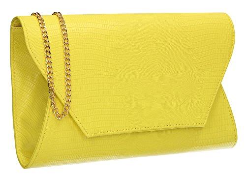 SwankySwans, Poschette giorno donna Taglia unica Neon Yellow