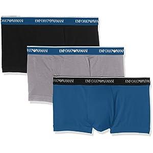 Emporio Armani Underwear 1113577P717, Mutande Uomo, (pacco de 3)