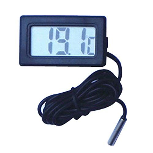 Hygrometer Thermometer, Innen Außen Thermometer Hygrometer Digital Innen Außentemperatur und Luftfeu Jamicy
