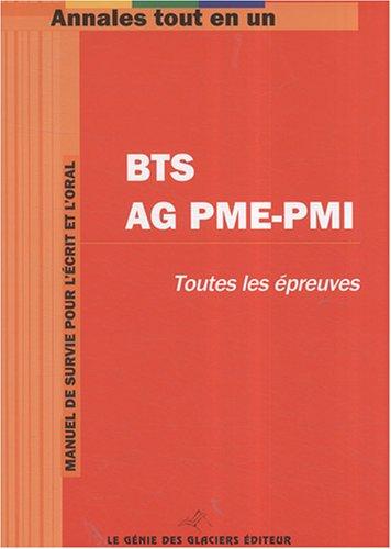 Annales tout en 1 pour BTS Assistant de Gestion PME-PMI