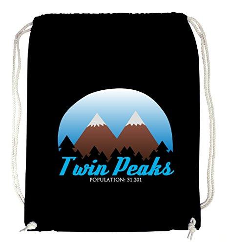 Twin Peaks Gymsack Black Certified Freak