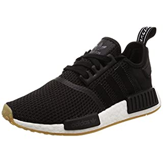 adidas Herren Originals NMD_R1 B42200 Gymnastikschuhe, Mehrfarbig (Black Cblack/Gum3), 46 EU