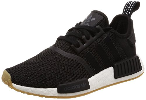 buy popular 02560 ba631 adidas NMD R1, Zapatillas para Hombre, Negro Core Black Gum 0, 44 EU
