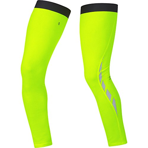 GORE BIKE WEAR VISIBILITY THERMO   PERNERAS UNISEX  COLOR AMARILLO NEON  TALLA S