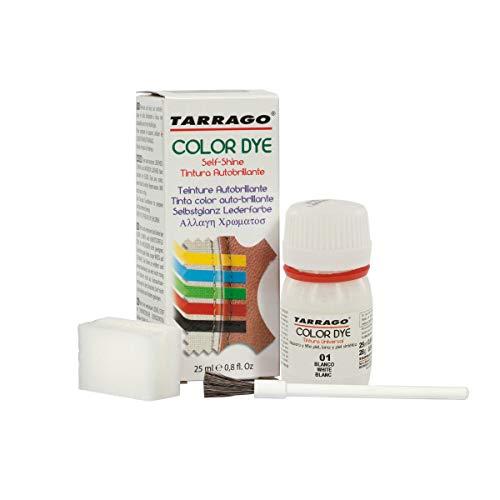 Tarrago Color Dye 25ml, Zapatos y Bolsos Unisex Adulto, Blanco (White 01), 20 mL