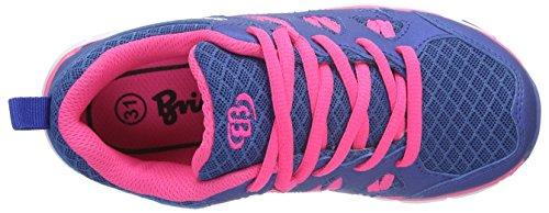 Brütting 591206, Baskets Basses Fille Violet (Lila/Pink)