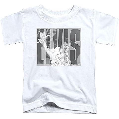 Elvis Presley-Aloha, per bambini, colore: grigio