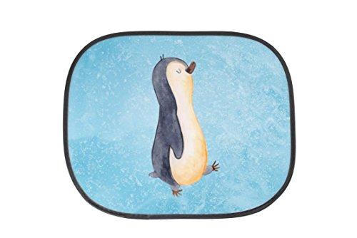 Mr. & Mrs. Panda Auto Sonnenschutz Pinguin marschierend - 100% handmade in Norddeutschland - PKW, Langschläfer, Auto, Sonnenblende, Pinguin, Fenster, Kunstfaser, Schwester, Pinguine, Familie, Frühaufsteher, Bruder