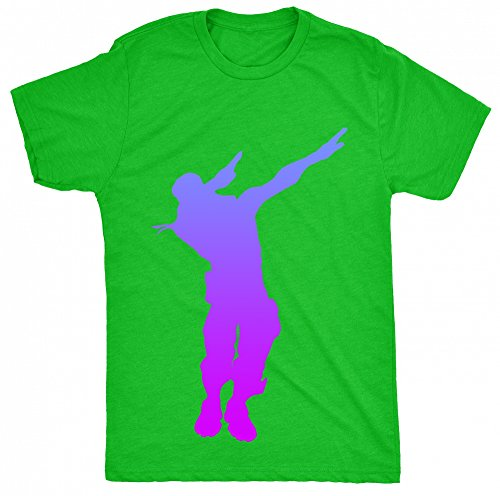 8TN Dabbing NiteFort Parody Ps4 Gaming Nerd Unisex - Kinder T Shirt - Grã¼n - 12-13 Jahre (Frenzy Cat)
