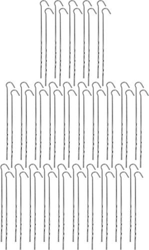 normani 20 oder 50 Stück Stahl Zeltheringe Dreikant-Hering Steel Farbe 50 Stück