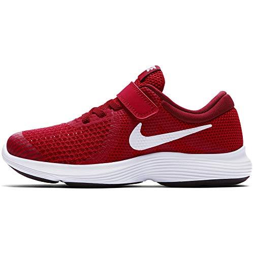 Nike Jungen Kleinkinder Sneaker Revolution 4 Fitnessschuhe, Rot (Gym Red/White/Team Red/Black 601), 28 EU