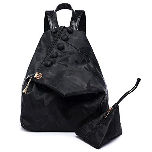 Mefly Il Nuovo Zaino Vento Tutto-Match Black black