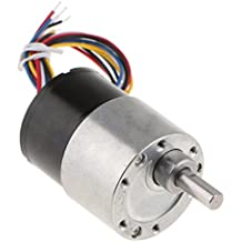 D DOLITY Motor sin Cepillo Eléctrico de Engranaje 12V DC de Metal Cerradura de Puerta Electrónica