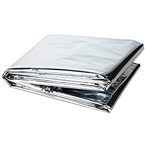 NAVAdeal 2Pcs Highly Reflective Mylar Film Garden Wall Covering Sheet from JIUFAN